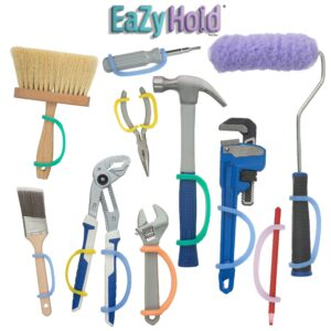 easy hold strap for tools and utensils